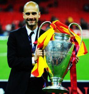 Guardiola obtiene la Champions con el Barcelona
