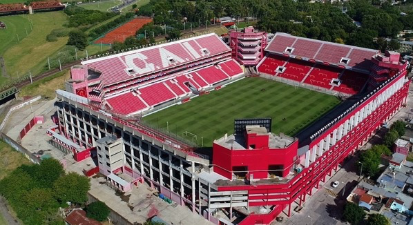 Estadio Libertadores de América.