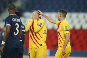 PSG elimina al Barcelona